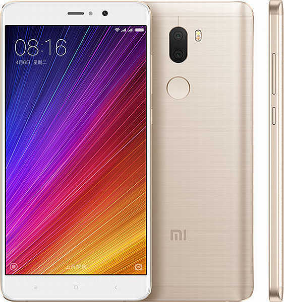 Xiaomi Mi5S Plus Gold / 5,7´´ 1920x1080/2,35GHz QC/4GB/64GB/2xSIM/FP/2x13MPx/3800mAh