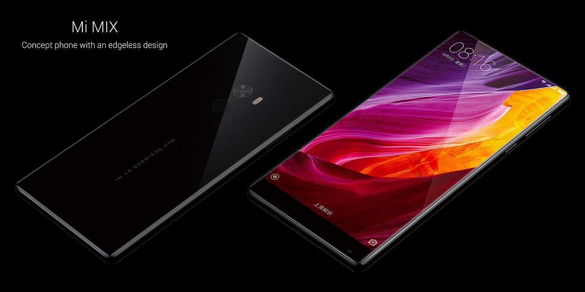 Xiaomi Mi Mix ENG Black/ 6,4´´ FullHD 2040x1080/2,35GHz QC/4GB/128GB/2xSIM/FP/16MPx/4400mAh