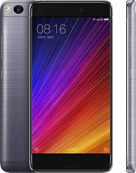Xiaomi Mi5S Black / 5,15´´ 1920x1080/2,15GHz QC/3GB/64GB/2xSIM/FP/12MPx/3200mAh