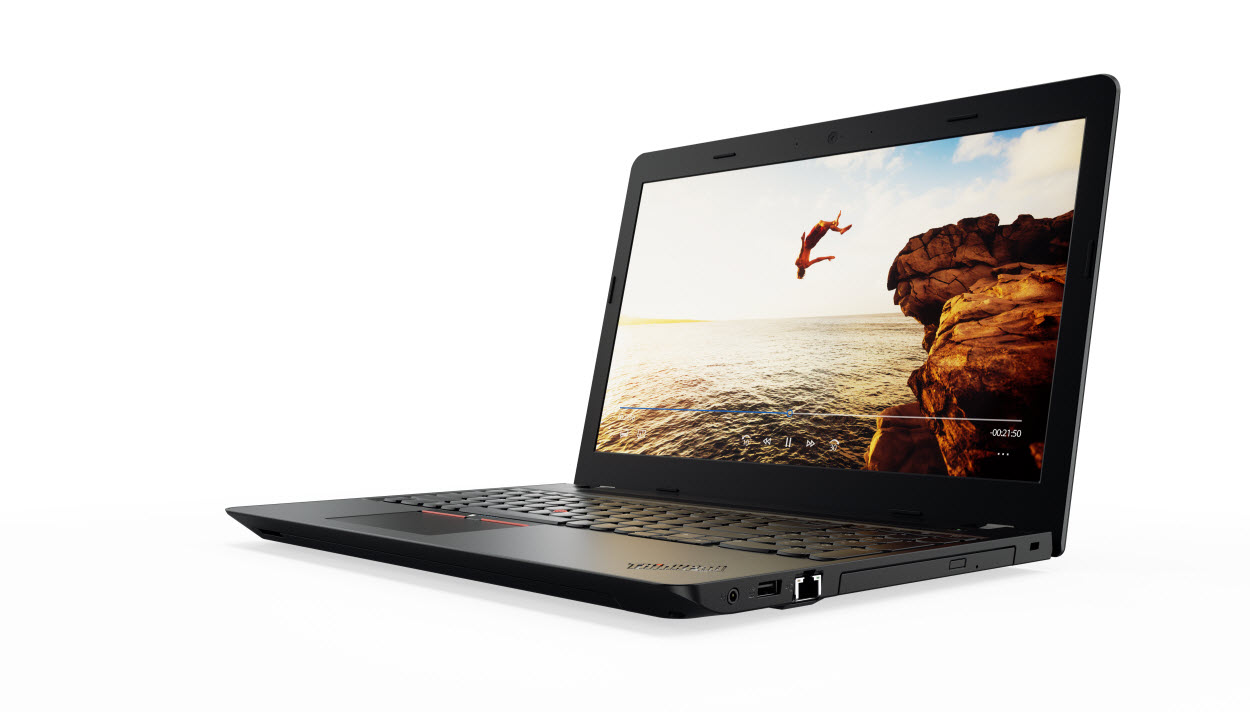 """Lenovo ThinkPad E570 i7-7500U/8GB/256GB SSD/DVD±RW/GeForce GTX 950MX 2GB/15,6""""FHD IPS matný/Win10PRO černo-stříbrný"""