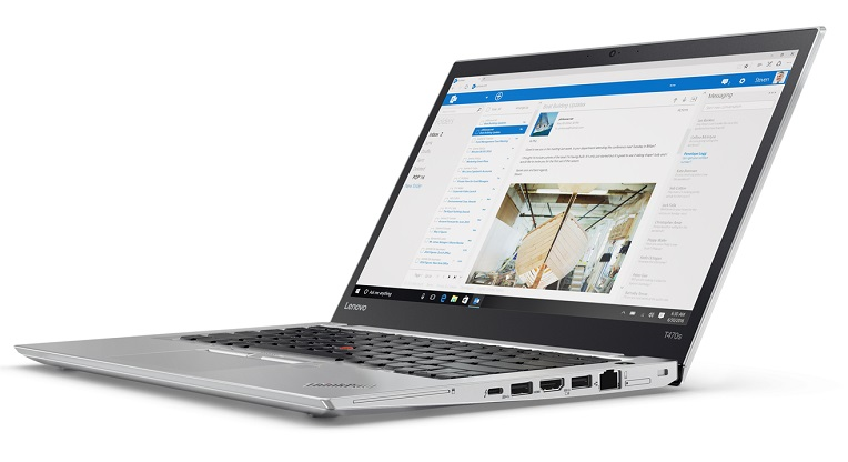 "Lenovo ThinkPad T470s i5-7300U/8GB/256GB SSD/HD Graphics 620/14""FHD IPS/Win10PRO/Silver"