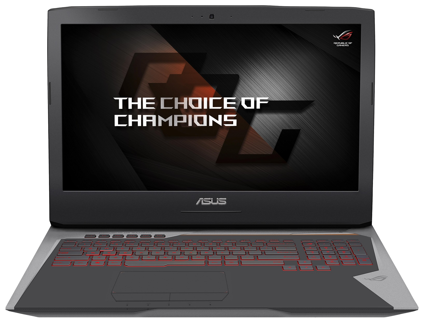 "ASUS G752VS(KBL)-BA289T i7-7700HQ/16GB/256GB SSD+1TB 7200ot./DVD-RW/GTX1070 8GB/17,3"" 1920x1080 120Hz IPS matný/W10 Home"