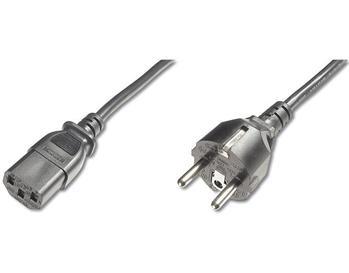 PREMIUMCORD Kabel napájecí 230V/10A, přímý, 2m
