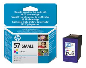 HP no. 57 - 3 barevná ink. kazeta, malá, C6657GE
