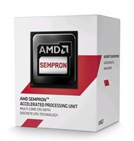 CPU AMD Sempron X4 4-Core 3850 (Kabini) 1.3GHz, 2MB cache, 25W, socket AM1, VGA HD8280, BOX