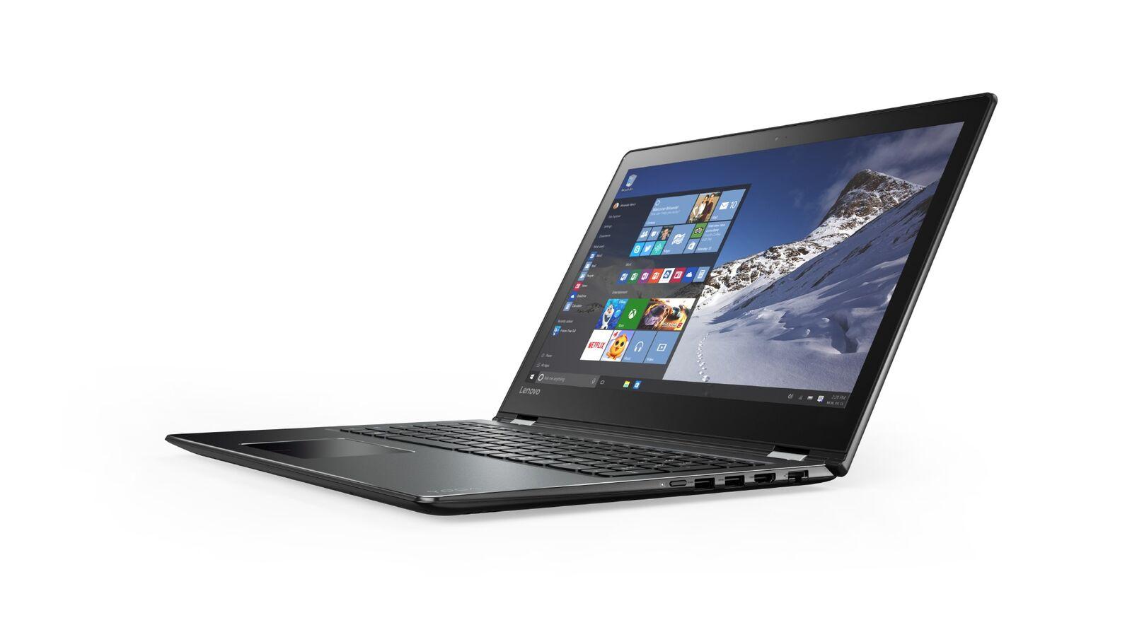 "Lenovo YOGA 510-15IKB i5-7200U 3,10GHz/8GB/1TB/15,6"" FHD/IPS/AG/multitouch/Radeon 2GB/WIN10 černá 80VC0005CK"