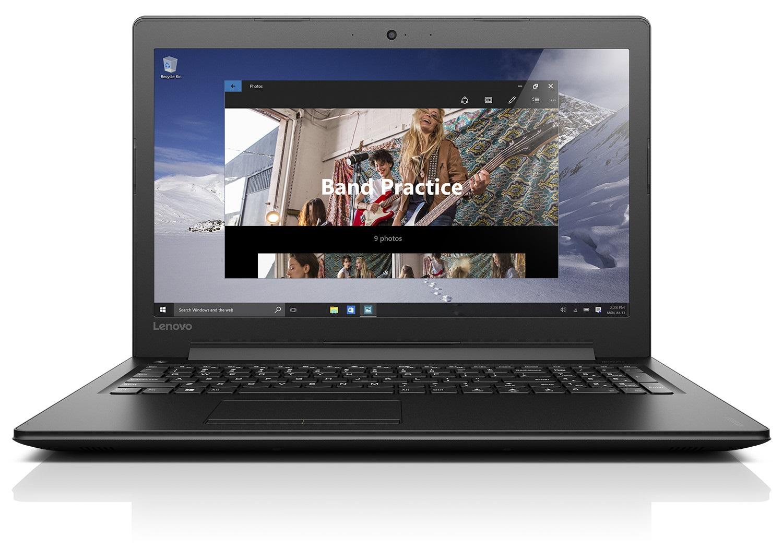 """Lenovo IdeaPad 310-15ABR AMD A12-9700P 3,40GHz/8GB/1TB/15,6"""" FHD/Radeon 2GB/DVD-RW/WIN10 černá 80ST005NCK"""