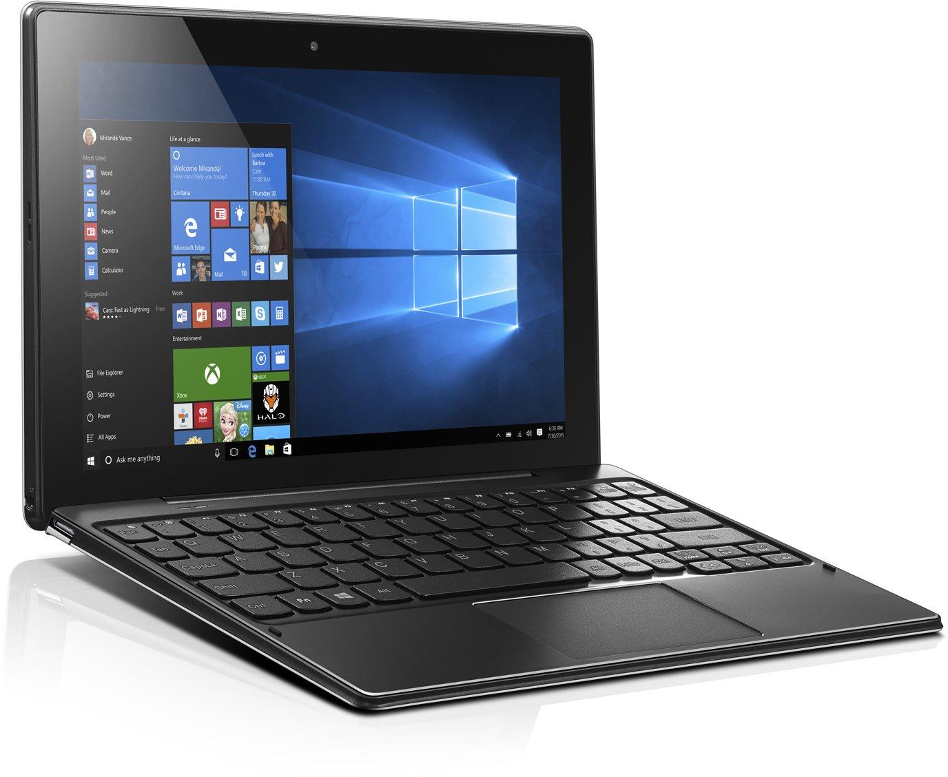 "Lenovo Tablet MiiX 310 Atom x5-Z8350 1,92GHz/2GB/64GB/10,1"" HD/IPS/multitouch/WIFI/KB DOCK/WIN10 červená 80SG00ELCK"