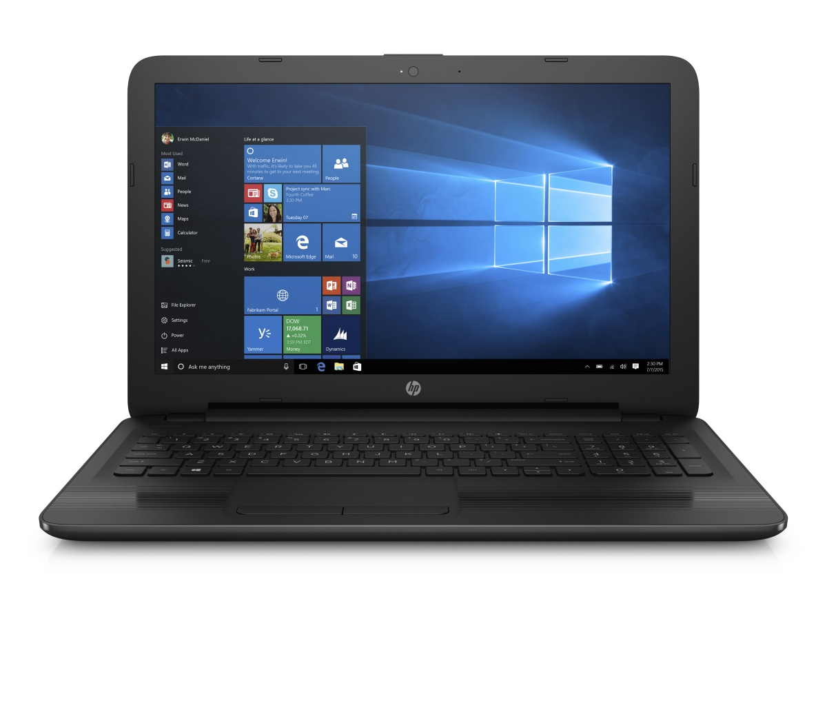 HP 250 G5 i3-5005U /4GB/500GB 7200ot/15,6'' FHD/Intel HD / Win 10 Pro