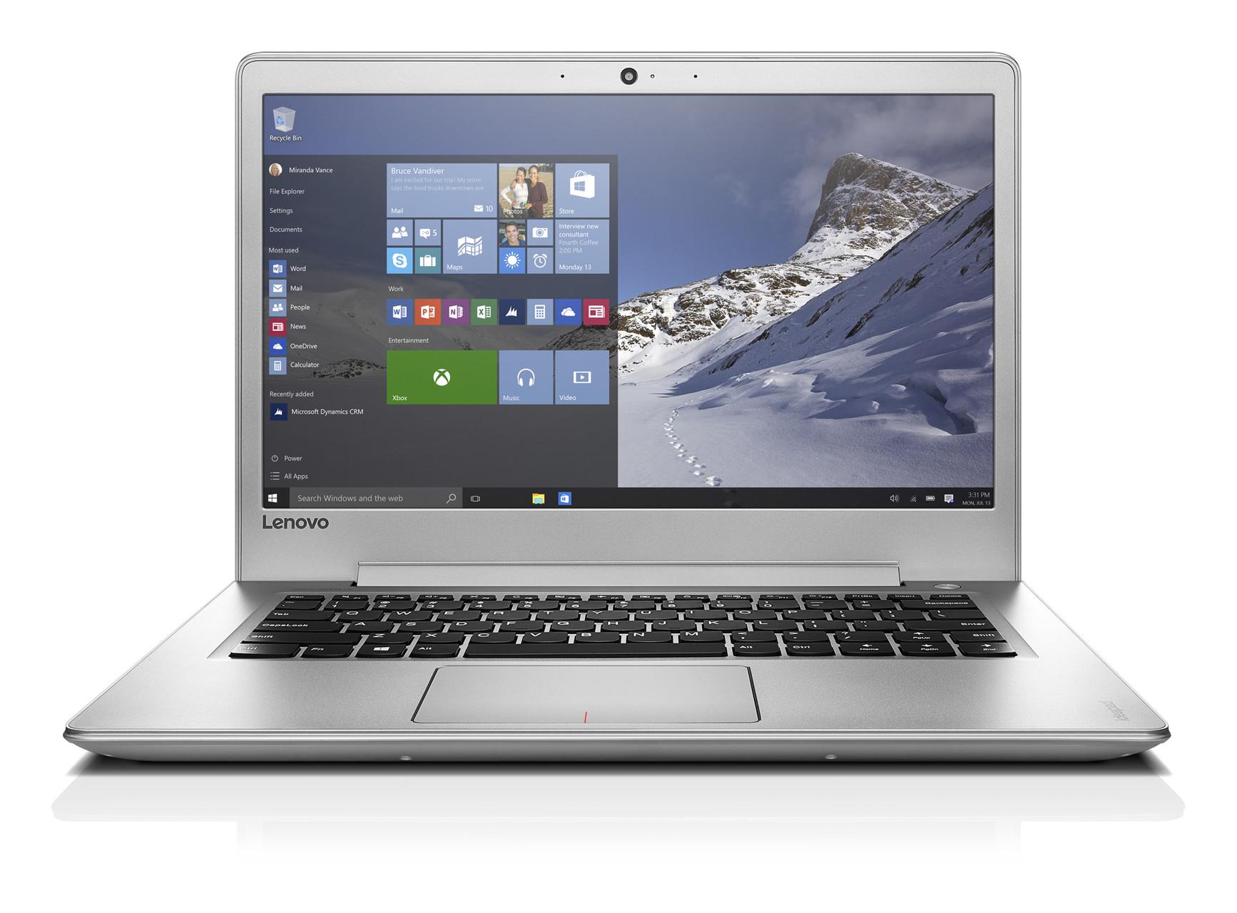 """Lenovo IdeaPad 510S-14IKB i3-6006U 2,00GHz/4GB/SSD 128GB/14"""" FHD/IPS/AG/WIN10 stříbrná 80TK00CKCK"""