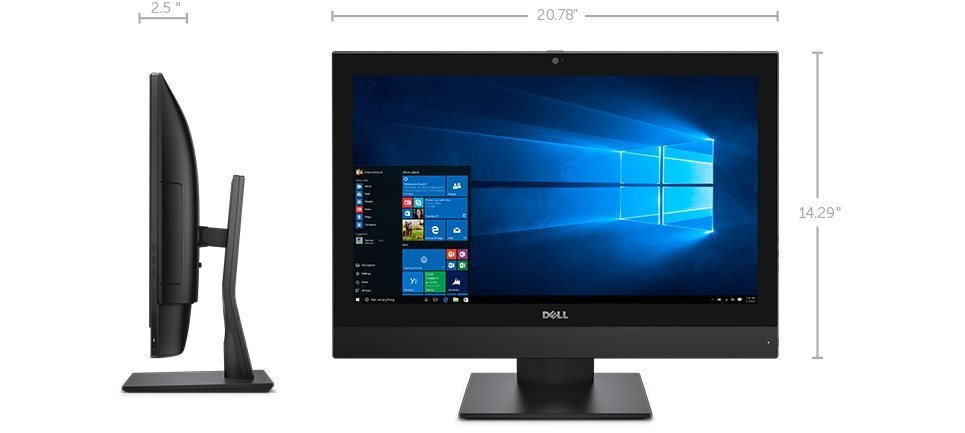 "DELL OptiPlex AIO 3240 21,5""FHD Touch/i5-6500/8GB/500GB/Wifi/Win 10 PRO (AIO)"