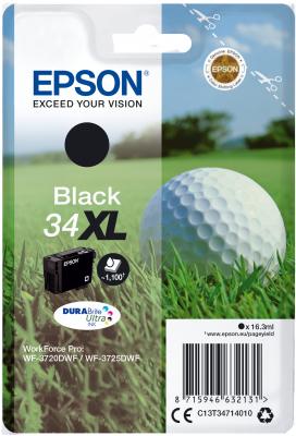 Epson Singlepack Black 34XL DURABrite Ultra Ink