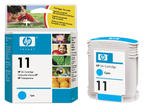 HP C4836A Ink Cart No.11 pro BI 2200,2250,CP1700, 28ml, Cyan