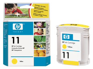 HP C4838A Ink Cart No.11 pro BI 2200,2250,CP1700, 28ml, Yellow