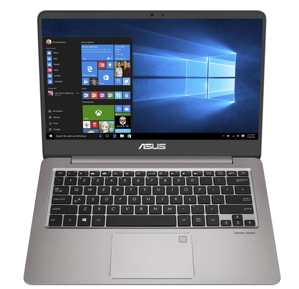 "ASUS UX410UA-GV017T i3-7100U/4G/128G SSD SATA3/UMA/14"" FHD/W10/Gray"