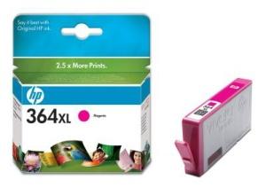 HP 364 XL - purpurová inkoustová kazeta, CB324EE