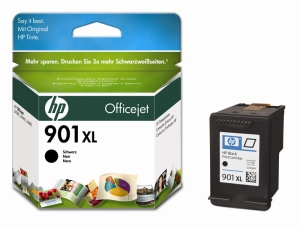 HP CC654AE Ink Cart No.901XL pro OJ 4500, J4580, 14ml, Black