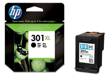 HP CH563EE Ink Cart No.301XL pro DJ2050,3050,D1000,D2000,D3000, 8ml, Black