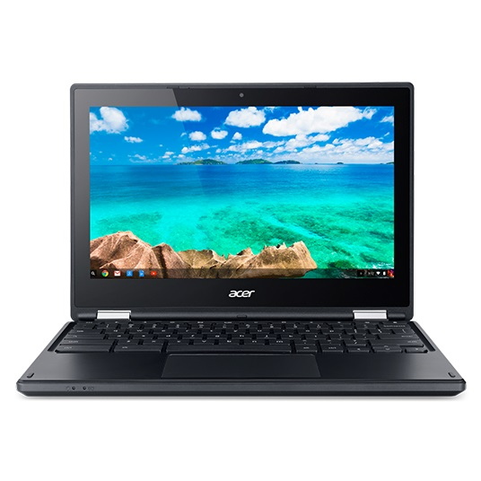 "DEMOPRODUKT Acer Chromebook R 11 (C738T-C50F) Celeron/4GB+N/eMMC32GB+N/HD Graphics/11.6"" Multi-touch HD LCD/Google Chrome"
