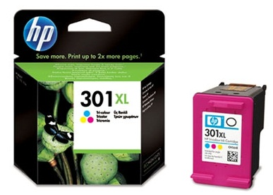 HP CH564EE Ink Cart No.301XL pro DJ2050,3050,D1000,D2000,D3000, 6ml, Color