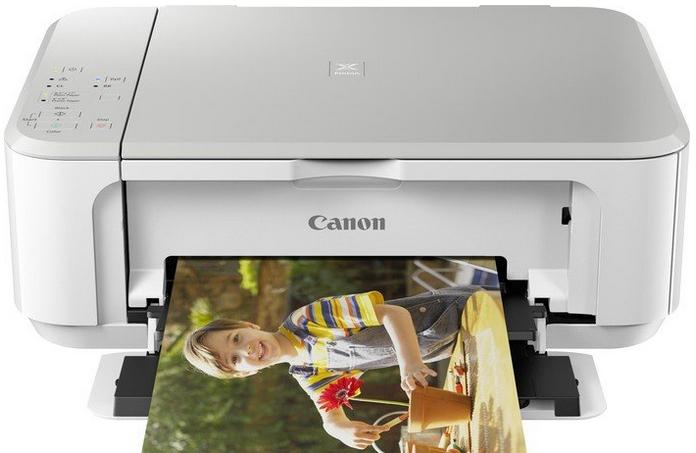 Canon PIXMA MG3650 - PSC/Wi-Fi/AP/Duplex/4800x1200/USB white