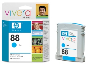 HP C9391AE Ink Cart No.88XL pro OJ K550,K8600, 17ml, Cyan
