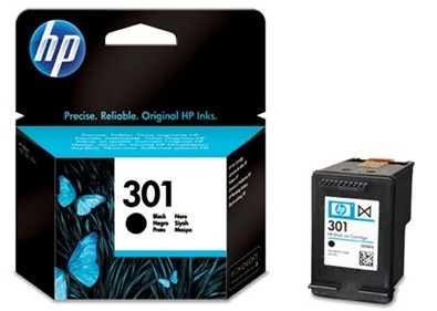 HP CH561EE Ink Cart No.301 pro DJ2050,3050,D1000,D2000,D3000, 3ml, Black