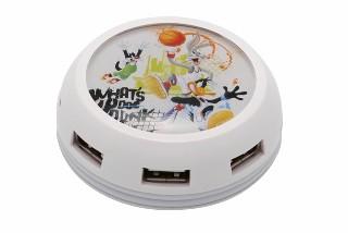 USB hub MODECOM UFO, 7x USB STREET7HUB - LOONEY TUNES