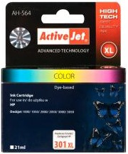 Inkoust ActiveJet AH-564   Color   21 ml   Refill   HP CH564EE