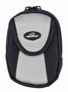 Esperanza ET135 Pouzdro pro kompaktní fotoaparát, černo-stříbrné