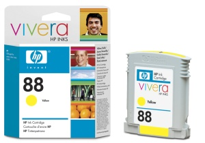 HP C9393AE Ink Cart No.88XL pro OJ K550,K8600, 17ml, Yellow
