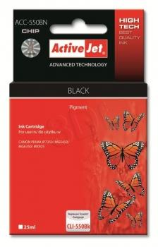 ActiveJet ink cartr. Canon PGI-550Bk premium with chip - 22 ml AC-550BR