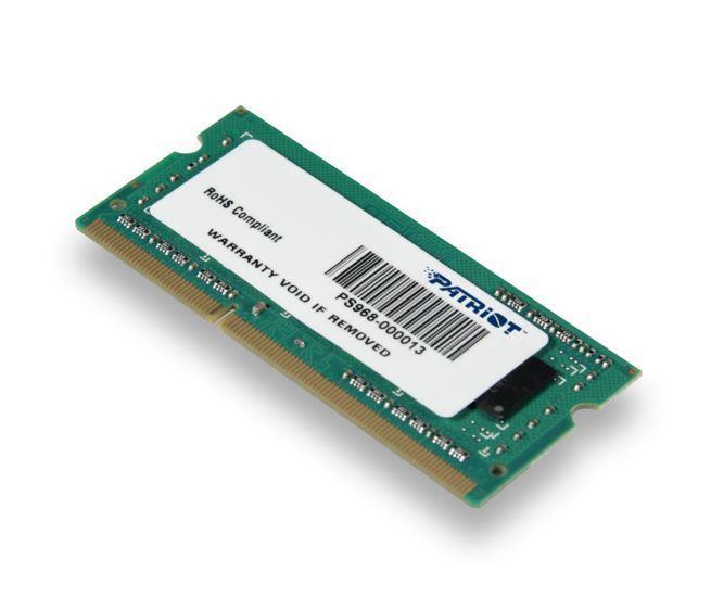 Patriot 4GB 1600MHz DDR3 CL11 DIMM