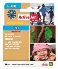 Inkoust ActiveJet AL-100C | Cyan | 13 ml | Lexmark 14N1069E