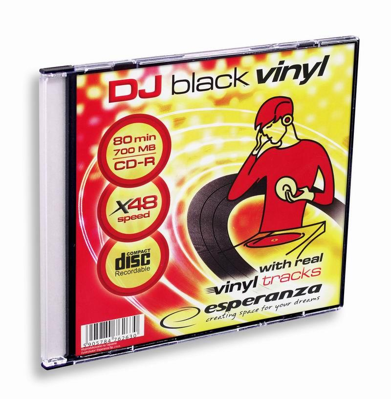 Esperanza CD-R [ slim jewel case 1   700MB   48x   Vinyl ]