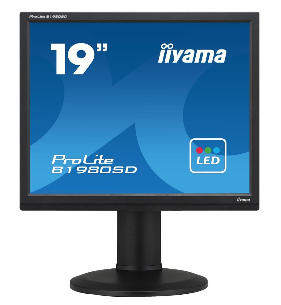 Monitor Iiyama B1980SD-B1 A 19inch, TN, SXGA, DVI, speakers