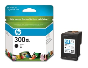 HP CC641EE Ink Cart No.300XL pro DJ F4280, D2560, D2660, 12ml, Black