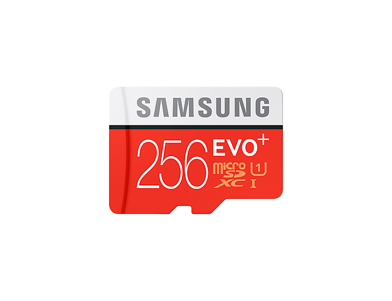 Micro SDHC 256GB Samsung EVO Plus + SD adaptér