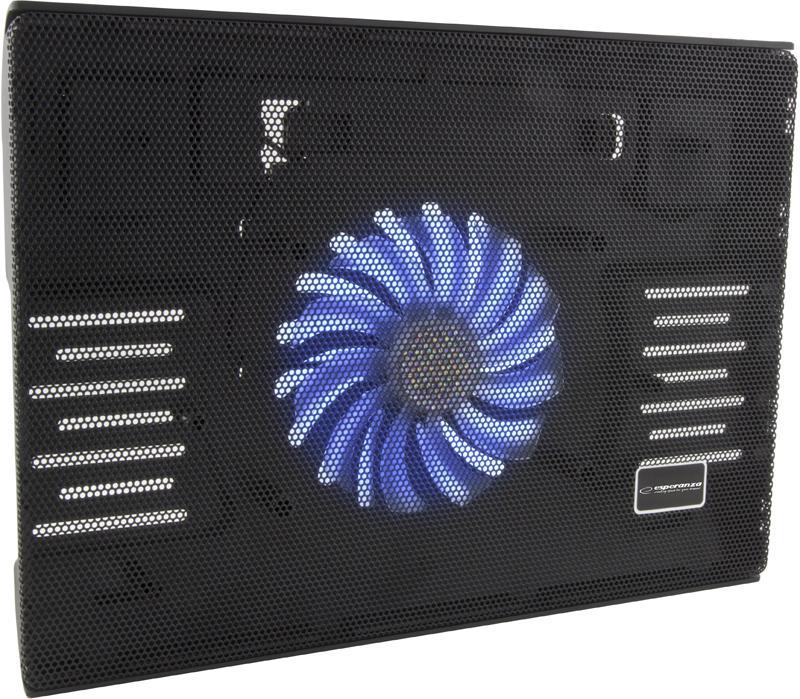 Esperanza EA142 SOLANO Chladicí podložka pod NTB 15.4''-15.6'', 1 vent., LED