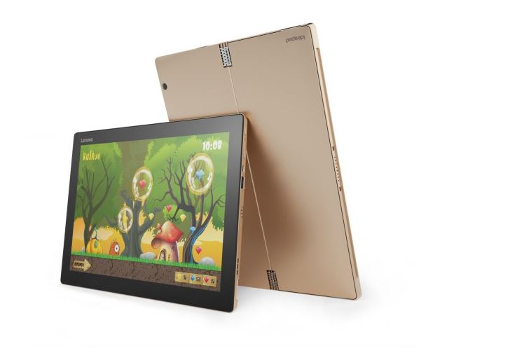 "Lenovo Tablet MiiX 720 i7-7500U 3,50GHz/8GB/1TB SSD/12,0"" QHD IPS/multitouch/WIN10 zlatá 80VV003GCK"