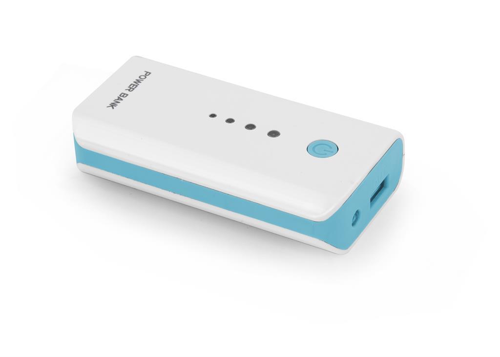 Esperanza EMP104WB ELECTRON externí baterie 5200mAh, bílo-modrá