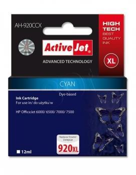 Ink ActiveJet AH-920CCX | Cyan | 12 ml | HP HP 920XL CD972AE