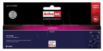 Kazeta ActiveJet AH-971MRX | Magenta | 100 ml | HP HP 971XL CN627AE