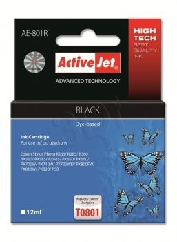 Ink ActiveJet AE-801R | black | 12 ml | Epson T0801