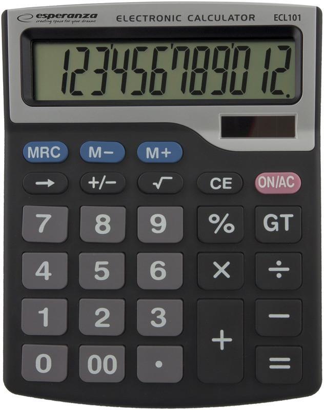 Esperanza ECL101 TALES Elektronická stolní kalkulačka