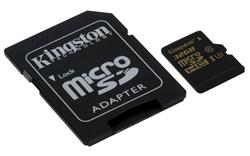 Kingston micro SDHC karta 32GB Gold UHS-I U3 (čtení/zápis: 90/45MB/s)