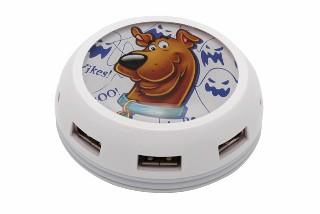 USB hub MODECOM UFO, 7x USB GHOST7 - SCOOBY DOO