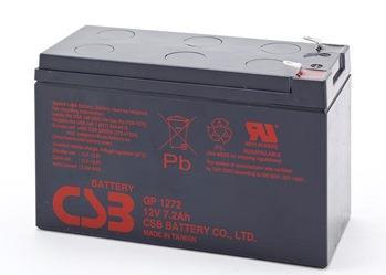 CSB kit 8 baterií GP1272 F2 12V/7.2Ah