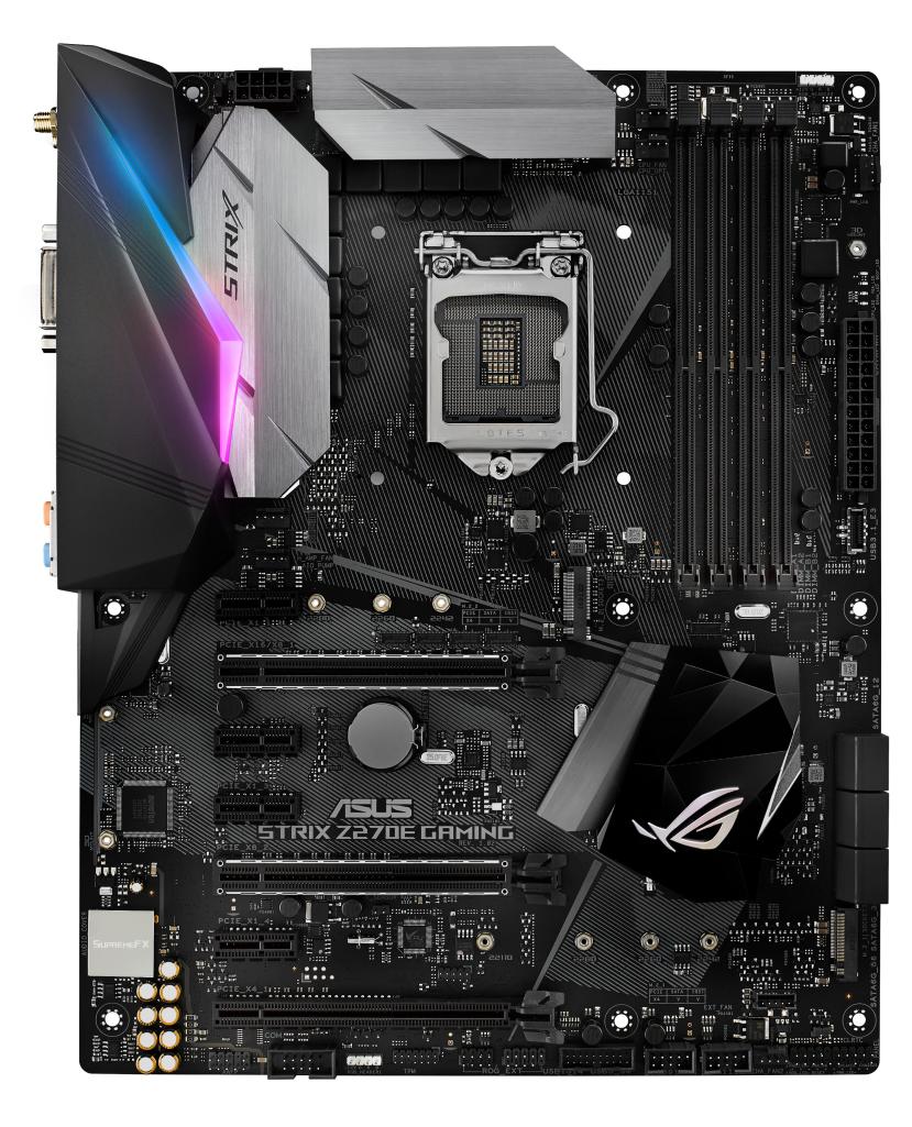 ASUS STRIX Z270E GAMING, s.1151, Z270, DDR4, PCIe 3.0x16, SATAIII, ATX