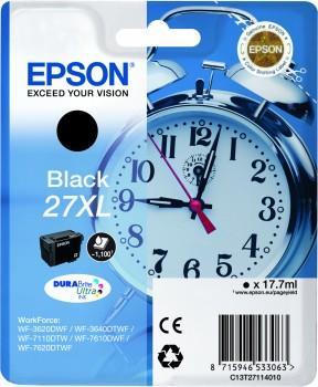 Inkoust Epson T2711 Black XL DURABrite